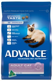 Advance Adult Cat Food Total Wellbeing (Fish)