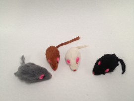 Fur Mice for Cats