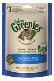 Feline Greenies Dental Treats Fish