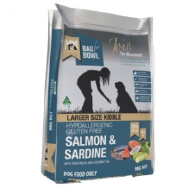 Meals for Mutts - Salmon & Sardine (LARGER SIZE KIBBLE)