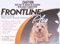 Frontline Plus for Small Dogs up to 10Kg 3PK