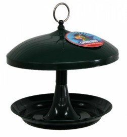 Cheeky Bird Metal Feeder