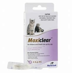 Moxiclear Kittens and Cats up to 4kg