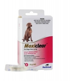 Moxiclear Dog over 25kgs