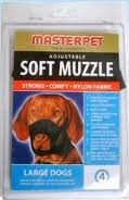 Masterpet Soft Dog Muzzle Lge