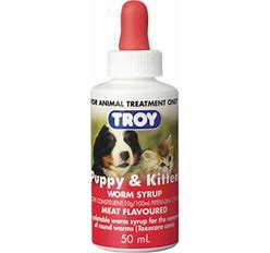 Troy Puppy and Kitten Worm Syrup