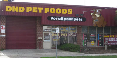 d&d pet foods shop
