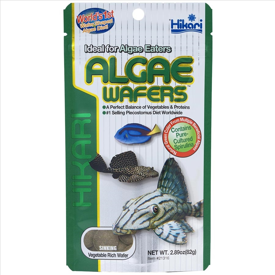 Hikari algae wafers 250g pet food delivery melbourne for Hikari fish food