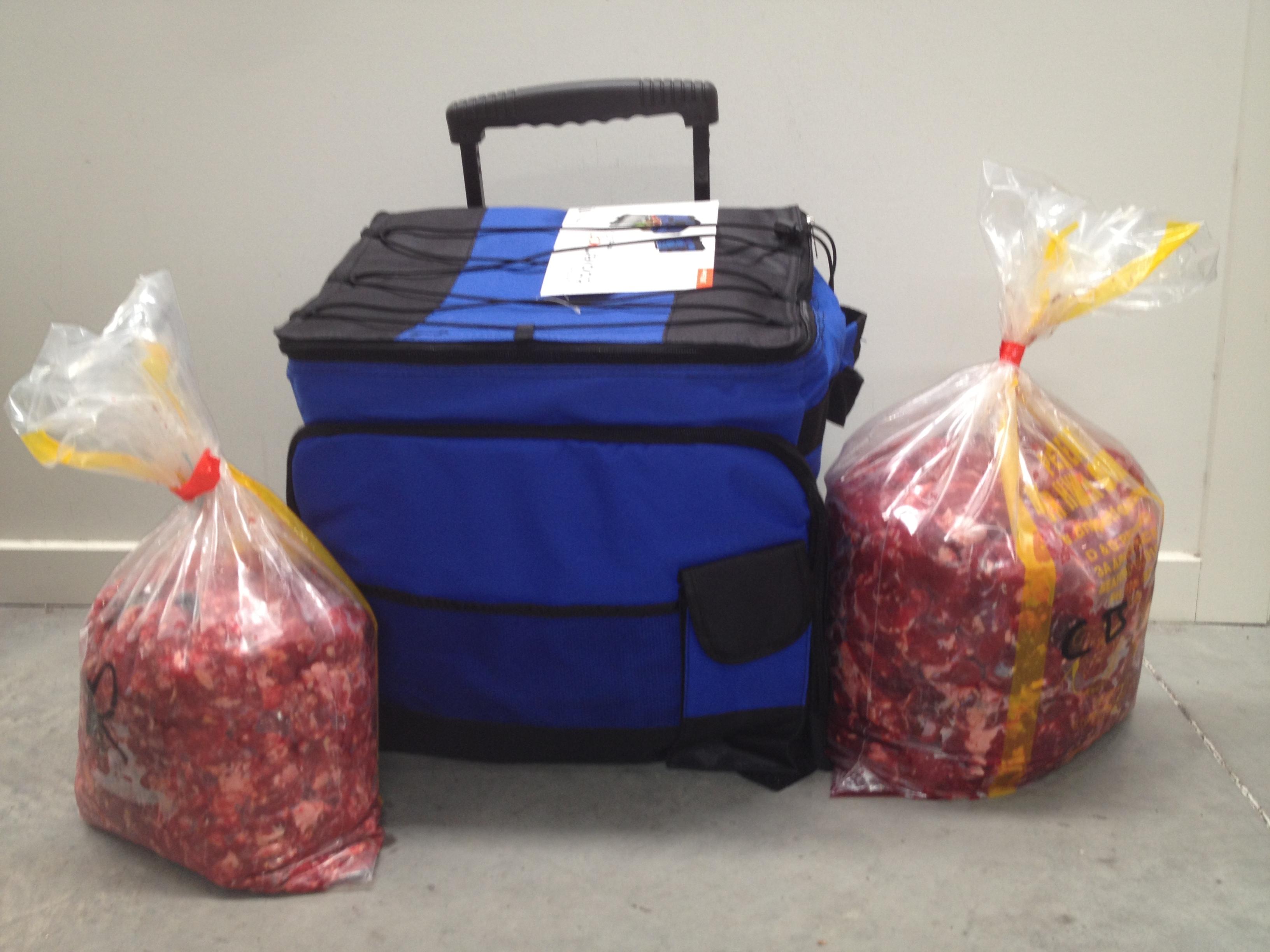 Foldable Cooler Bag Pet Food Delivery Melbourne Online