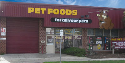 Pet Foods Delivery Melbourne