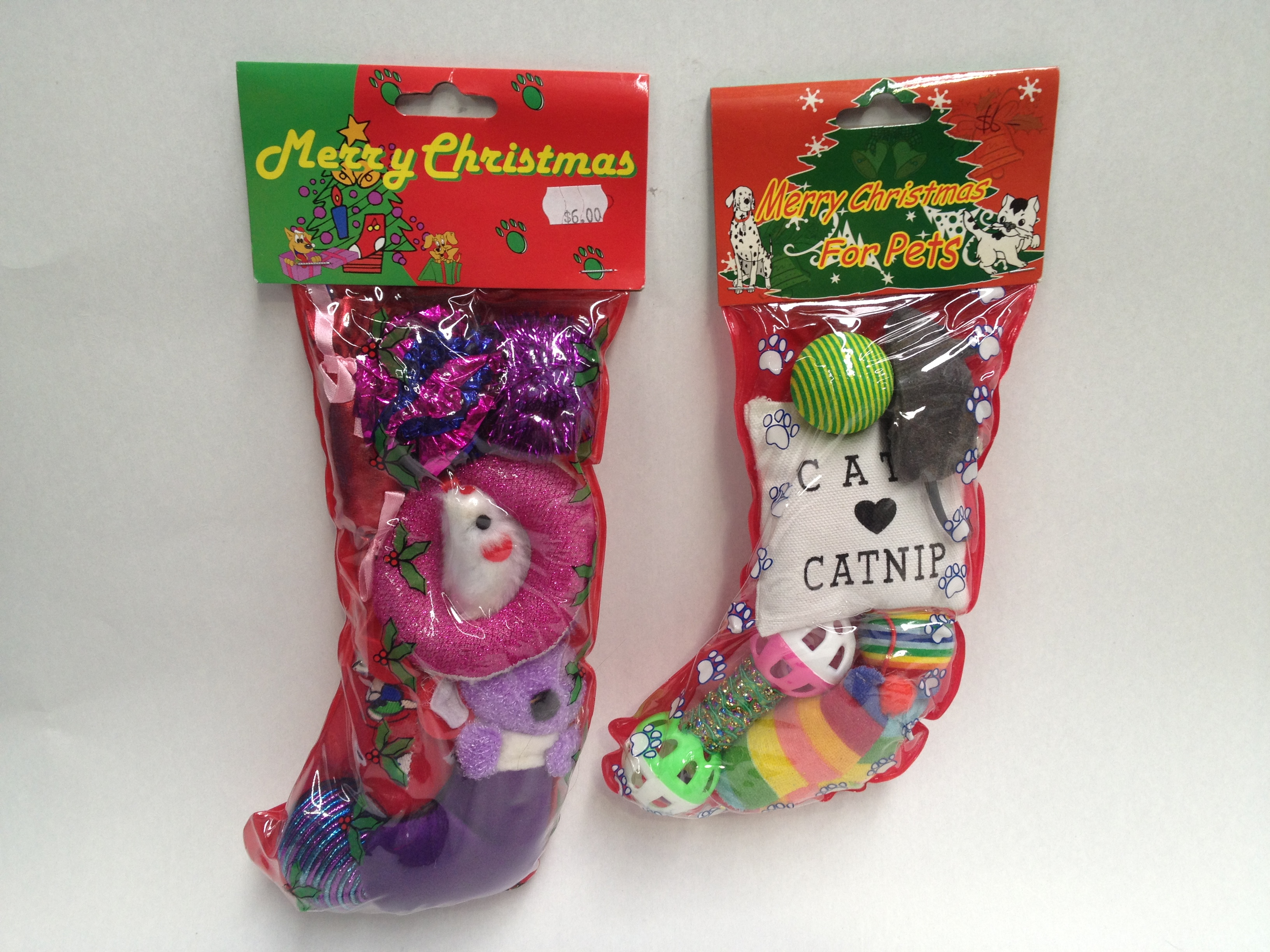 Xmas Stockings For Cats Pet Food Delivery Melbourne